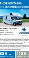 Ahorn Camp Eco 680